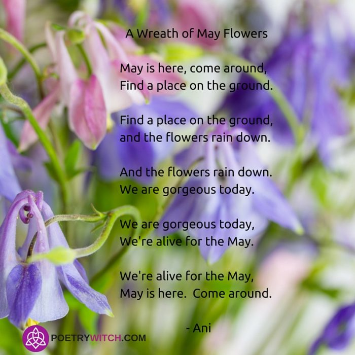 Annie's Spells: A Poem for May