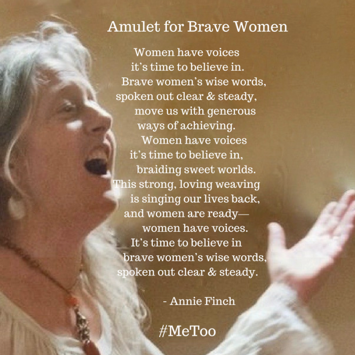 Amulet for Brave Women — #MeToo
