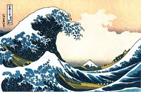 On Hokusai, Wind Farms, Pound, and My Old Friend Michi