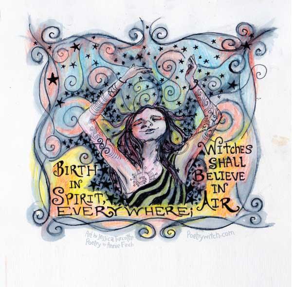 Birth in Spirit #AnnieSpell