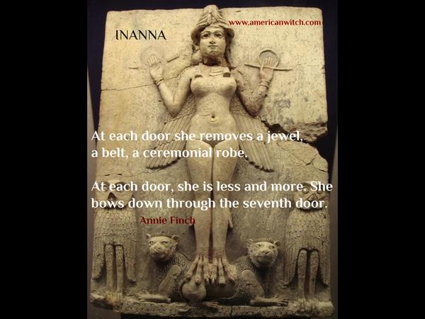 Goddess Inanna #AnnieSpell